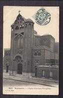 CPA 75 - PARIS - MONTMARTRE - L'Eglise , SAINT-JEAN-L'EVANGELISTE - TB PLAN EDIFICE RELIGIEUX Et Son Entrée - Kirchen