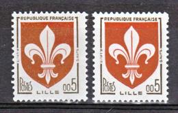 France 1230 A Nouveaux Francs Lille Gomme Tropicale Neuf ** TB MNH  Sin Charnela Cote 20 - Varietà: 1960-69 Nuovi
