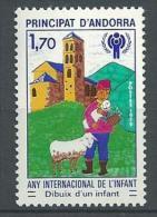 """Andorre YT 279 """" Année De L'Enfant """" 1979 Neuf** - Neufs"""