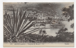 MONTE CARLO - N° 171 - VUE PRISE DE MONACO - CPA NON VOYAGEE - Monte-Carlo
