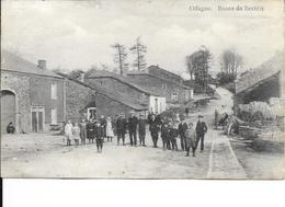 Offagne - Route De Bertrix - Animée - Ed: Numa Delvaux - Circulé: 1911 - Voir 2 Scans - Paliseul