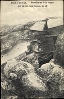 Cp Liège Lüttich Wallonien, Fort De Loncin, écroulement De La Coupole Par Un Seul Obus Allemand 42 - Belgien