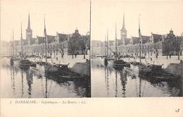 ¤¤  -  DANEMARK   -  Carte-Stéréo   -  COPENHAGUE  -  La Bourse      -  ¤¤ - Danemark