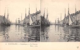 ¤¤  -  DANEMARK   -  Carte-Stéréo   -  COPENHAGUE  -  Le Nouveau Port      -  ¤¤ - Danemark