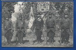 Drapeau Du 109 ° Régiment  D' Infanterie            Animées   écrite En 1906 - Régiments