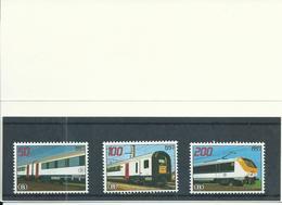 1997 Belgium Spoorwegen/NMBS/TRV Complete Set In Carnet MNH/Postfris/Neuf Sans Charniere - Railway