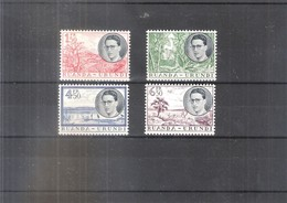 Ruanda-Urundi - 196/99 - Série Complète - XX/MNH - 1948-61: Neufs