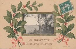 14 - HONFLEUR - De Honfleur Mon Meilleur Souvenir - Honfleur