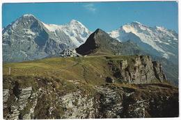 Männlichen, Hotel 2227 M. - Eiger, Mönch, Jungfrau, Tschuggen - BE Berne