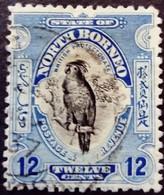 Borneo 1925 Animal Oiseau Bird Cacatoes Dent 12,5 Yvert 224 O Used - Nordborneo (...-1963)