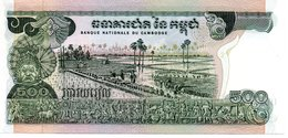 CAMBODGE   Billet 500  Riels Bank Banque - Cambodia