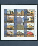 Belgium Spoorwegen/NMBS/TRV Complete M/Sheet MNH/Postfris/Neuf Sans Charniere - Railway