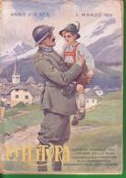 1919 LA LETTURA Principi Ferdinando E Aimone Di SAVOIA In Guerra -- Anno XIX N° 3. - Libri Antichi