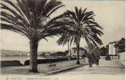 06 Cannes N°26 LL Boulevard De La Croisette Palmiers Attelages Cheval - Cannes
