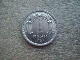Chile  1 Peso   1954  UNC - Chile