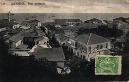 TURQUIE - MESRINE - VUE GENERALE - CACHET CONSTRUCTION DU CHEMIN DE FER DE BAGDAD - Turkey