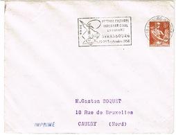 O.MEC SECAP  STRASBOURG NEUDORF FESTIVAL ETUDIANT SUR ENVELOPPE SCOTEM - Marcophilie (Lettres)