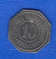 Bouzonville  Busendorf   10  Pf - Monétaires / De Nécessité