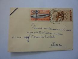 """Busta Viaggiata """"NEGOZIO PASTE ALIMENTARI  - CUNEO """" 1960 - 6. 1946-.. Repubblica"""