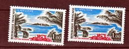 France 1646 Variétés Gomme Tropicale Et Normal Peu Visible Sur Scan Ilet Du Gosier Neuf ** TB MNH Sin Charnela Yvert 40 - Variétés: 1970-79 Neufs