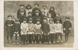Saint Martin Auxigny Carte Photo  Ecole Enfants - France