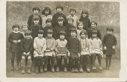 Saint Martin Auxigny Carte Photo  Ecole Enfants - Other Municipalities