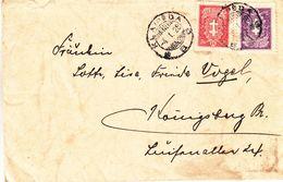 Lituanie - Lettre De 1928 - Oblit Klaipeda - Exp Vers Königsberg - Litauen