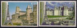 2006 UNO WIEN   Mi. 467-8 **MNH    UNESCO-Welterbe: Frankreich - Ungebraucht