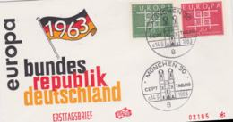 Germany 1963 FDC Europa CEPT (G84-84) - Europa-CEPT