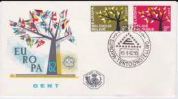 Belgium 1962  FDC Europa CEPT (G84-84) - Europa-CEPT