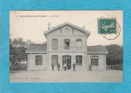 Saint-Parres-lès-Vaudes. - La Gare. - Autres Communes