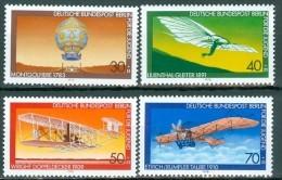 BERLIN - Komplettsatz Mi-Nr. 563 - 566 Luftfahrt Postfrisch - [5] Berlin