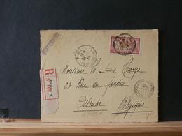 A9499H   DEVANT DE LETTRE  FRANCE   1924 POUR LA BELG.PRIX DEPART 1 € - 1900-27 Merson