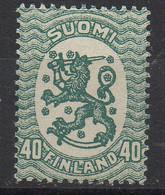 PIA - FINLANDIA - 1925-29  : Uso Corrente - Stemma  (Yv 112) - 1856-1917 Amministrazione Russa