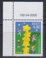 Europa Cept 2000 Estonia  1v  (corner) ** Mnh (43089B) - Europa-CEPT