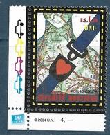 3659B ITALIE - Sécurité Routière - Emission Commune France-Italie-Nations Unies (2004) Neuf** - Emissions Communes
