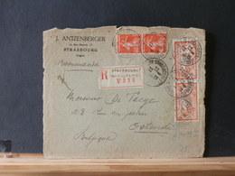 A9499I   DEVANT DE LETTRE  FRANCE   1927 POUR LA BELG.PRIX DEPART 1 € - 1900-27 Merson