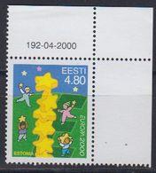 Europa Cept 2000 Estonia  1v  (corner) ** Mnh (43089C) - Europa-CEPT