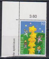Europa Cept 2000 Switzerland 1v (corner) ** Mnh (43089I) - Europa-CEPT