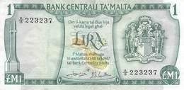 1 Pound Malta 1967 VF/F (III) - Malte