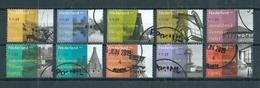 2002 Netherlands Complete Set Industrieel Erfgoed Used/gebruikt/oblitere - Periode 1980-... (Beatrix)