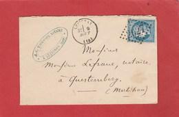 Aude - Lezignan - GC 2027 Sur Cérès  - LSC 1872 - Marcophilie (Lettres)