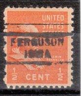 USA Precancel Vorausentwertung Preo, Locals Iowa, Ferguson 729 - Vereinigte Staaten