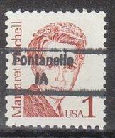 USA Precancel Vorausentwertung Preo, Locals Iowa, Fontanelle 843 - Etats-Unis