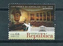 2010 Portugal Parliament Lissabon 0,68 EURO Used/gebruikt/oblitere - 1910-... Republic