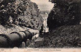 Cpa Louveciennes-la Conduite D'eau Et La Machine. - Louveciennes