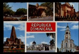 C1395 REPUBLICA DOMINICANA - SANTO DOMINGO - VISTAS VIAJADA 1981 - Repubblica Dominicana