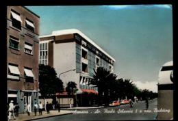 C1397 ERITREA EX ETHIOPIA - ASMARA - AVENUE HAILÉ SELASSIE I A NEW BUILDING CIRCULATED 1962 - Eritrea