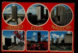 C1403 KENYA - NAIROBI - JAMBO FROM NAIROBI - Kenia