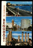 C1408 LIBYA - SOUVENIR OF BENGHAZI BENGASI - Libia